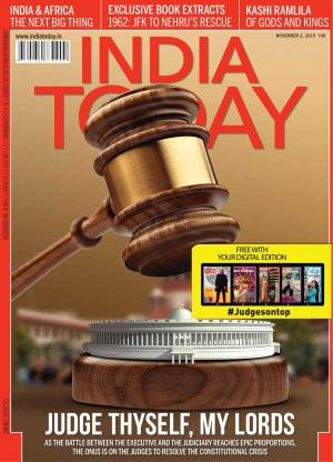 India Today-2nd November 2015 - Read on ipad, iphone, smart phone and tablets.