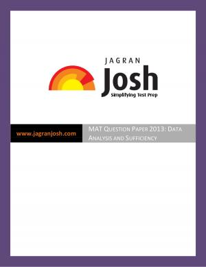 MAT Question Paper 2013: Data Analysis and Sufficiency - Read on ipad, iphone, smart phone and tablets.