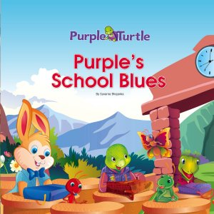 Purple School Blues  - Read on ipad, iphone, smart phone and tablets.