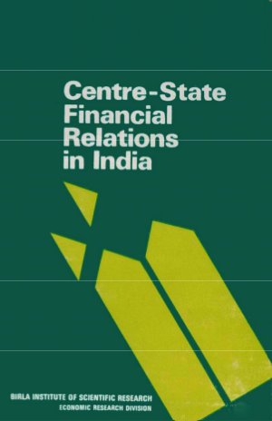 Centre-State Financial Relations in India