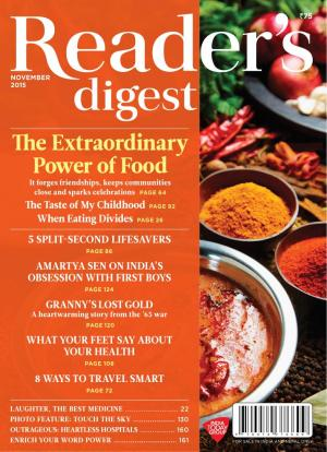 Reader's Digest-November 2015 - Read on ipad, iphone, smart phone and tablets.