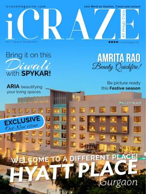 iCRAZE Magazine Oct-Nov 2015 - Read on ipad, iphone, smart phone and tablets.