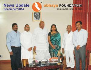 abhaya News Update - December 2014