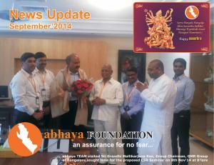 abhaya News Update - September 2014