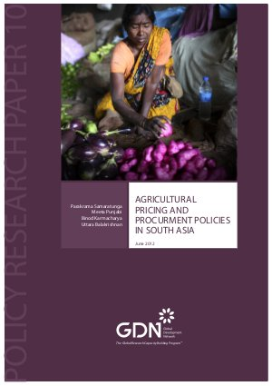 Agricultural pricing and public procurement policies in South Asia