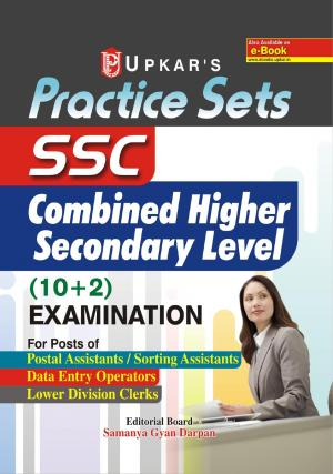 Practice Sets SSC Combined Higher Secondary Level (10+2) Examination - Read on ipad, iphone, smart phone and tablets
