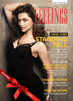 FEELINGS ( English)- 1st Issue, 2015 - Read on ipad, iphone, smart phone and tablets.