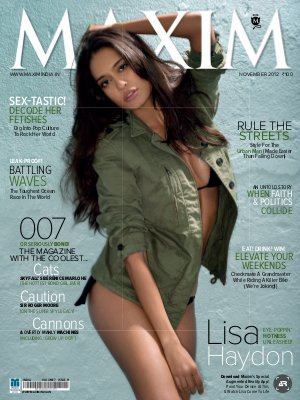Maxim November 2012 - Read on ipad, iphone, smart phone and tablets.