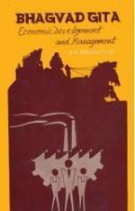 Bhagvad Gita, Economic Development & Management