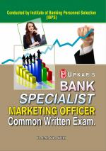Bank Specialist Marketing Officer Common Written Exam.