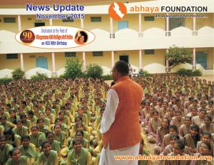 abhaya News Update - November 2015