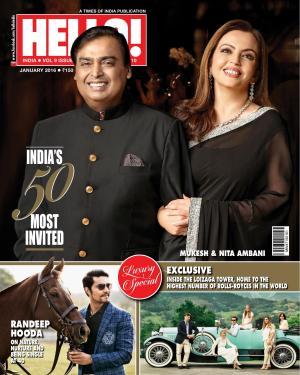 HELLO! INDIA JAN 2016 - Read on ipad, iphone, smart phone and tablets.