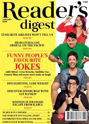 Reader's Digest-January 2016 - Read on ipad, iphone, smart phone and tablets.