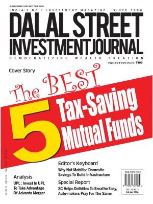Dalal Street Investment Journal 24 January, 2016 Vol. 31, Issue. No.3  - Read on ipad, iphone, smart phone and tablets.