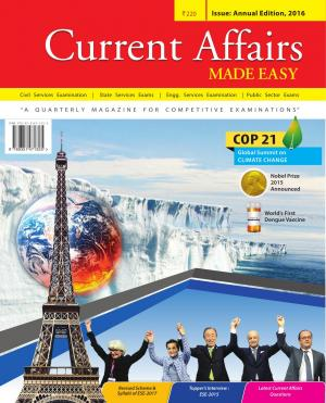 Current Affairs- MADE EASY-Annual Issue 2016 - Read on ipad, iphone, smart phone and tablets.