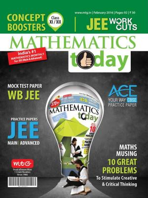 Mathematics Today- February 2016 - Read on ipad, iphone, smart phone and tablets.