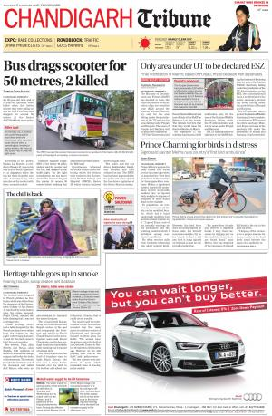 Chandigarh Tribune - Read on ipad, iphone, smart phone and tablets