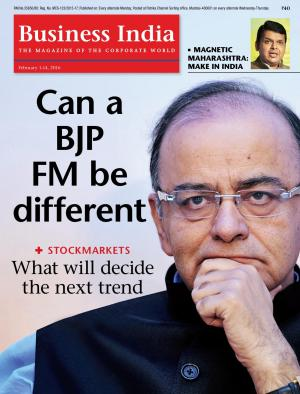 Business India (February 1-14, 2016) - Read on ipad, iphone, smart phone and tablets.