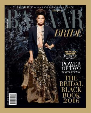 Harper's Bazaar Bride-February 2016