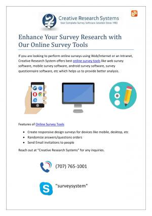Survey Software Systems