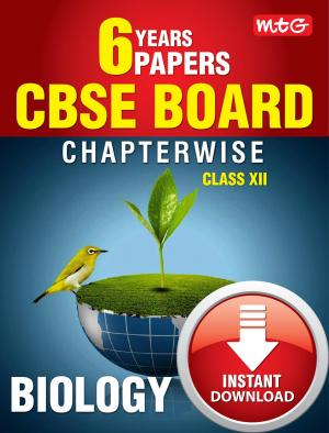 6 Years CBSE Boards Chapterwise Solutions - Biology eBook