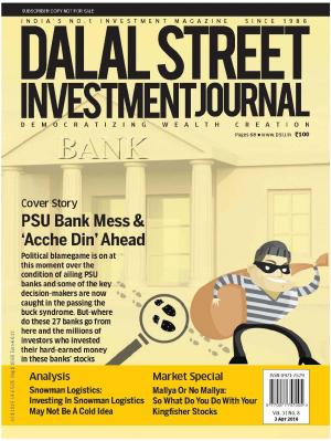 Dalal Street Investment Journal Vol 31 Issue No 8, April 3, 2016 - Read on ipad, iphone, smart phone and tablets.