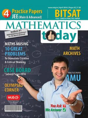 Mathematics Today- April 2016