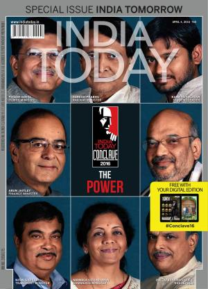 India Today -4th April 2016 - Read on ipad, iphone, smart phone and tablets.