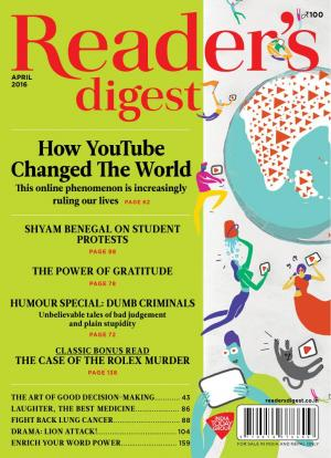 Reader's Digest-April 2016 - Read on ipad, iphone, smart phone and tablets.