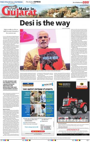 Make In India - Make In Gujarat - Read on ipad, iphone, smart phone and tablets.