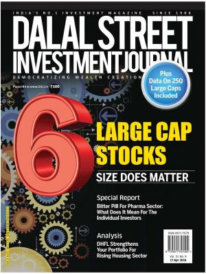 Dalal Street Investment Journal Vol 31 Issue No 9, April 17, 2016 - Read on ipad, iphone, smart phone and tablets.