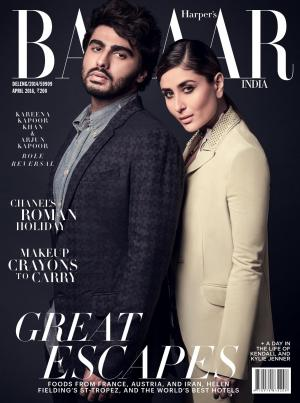 Harper's Bazaar India- April 2016