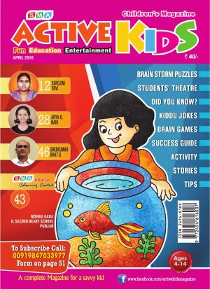 ACTIVE KIDS APRIL 2016