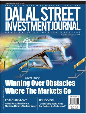 Dalal Street Investment Journal Vol 31 Issue no 10 1 May 2016 - Read on ipad, iphone, smart phone and tablets.