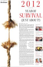 2012 - The Year of Survival