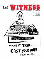 WITNESS, April 2016