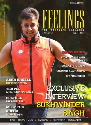 Feelings - April issue - Read on ipad, iphone, smart phone and tablets.
