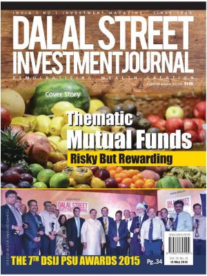 Dalal Street Investment Journal Vol 31 Issue no 11, 15 May 2016 - Read on ipad, iphone, smart phone and tablets.