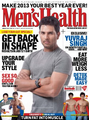 Men's Health-January 2013 - Read on ipad, iphone, smart phone and tablets.