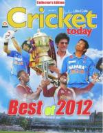 Best of 2012- Cricket Today - Read on ipad, iphone, smart phone and tablets.