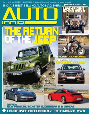 Auto India (January 1, 2013) - Read on ipad, iphone, smart phone and tablets.