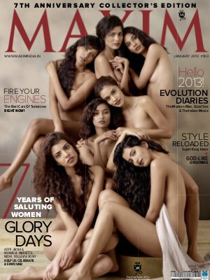 Maxim January 2013 - Read on ipad, iphone, smart phone and tablets.
