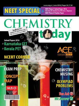 Chemistry Today- June 2016
