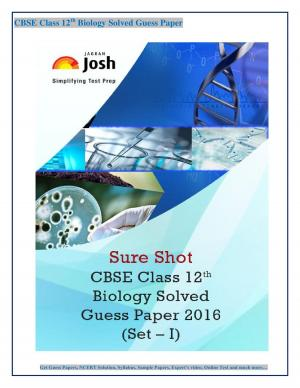 CBSE Class 12th Biology Solved Guess Paper 2016 Set - I eBook - Read on ipad, iphone, smart phone and tablets