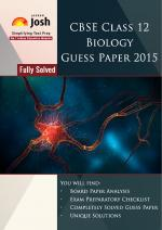 CBSE Class 12th Solved Biology Guess Paper 2015