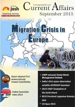 Current Affairs September 2015 eBook - Read on ipad, iphone, smart phone and tablets