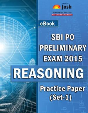 SBI PO Prelims Exam 2015: Reasoning: Practice Paper (Set-1) - Read on ipad, iphone, smart phone and tablets.