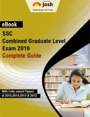 SSC Combined Graduate Level Exam 2016: Complete Guide eBook - Read on ipad, iphone, smart phone and tablets