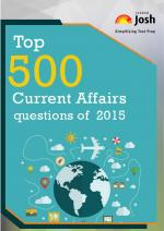 Top 500 Current Affairs Questions of 2015 eBook