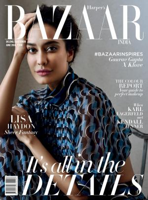 Harper's Bazaar India- June 2016